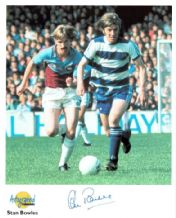 Stan Bowles Autograph Signed Photo - QPR